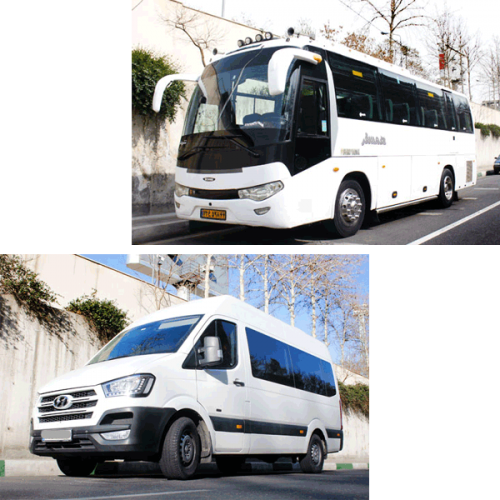 middle bus van rental