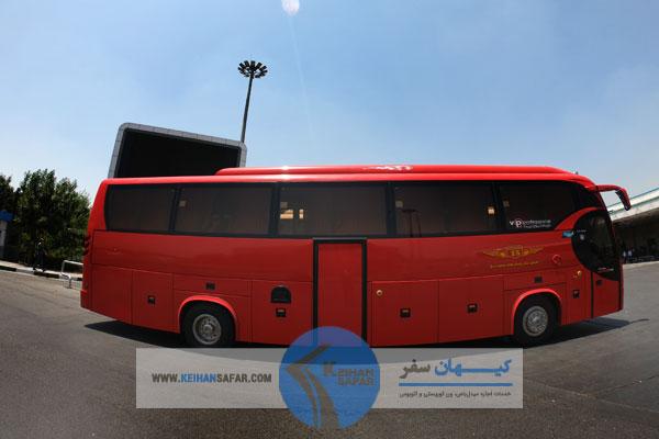 اجاره و کرایه اتوبوس ۳۰ صندلی VIP