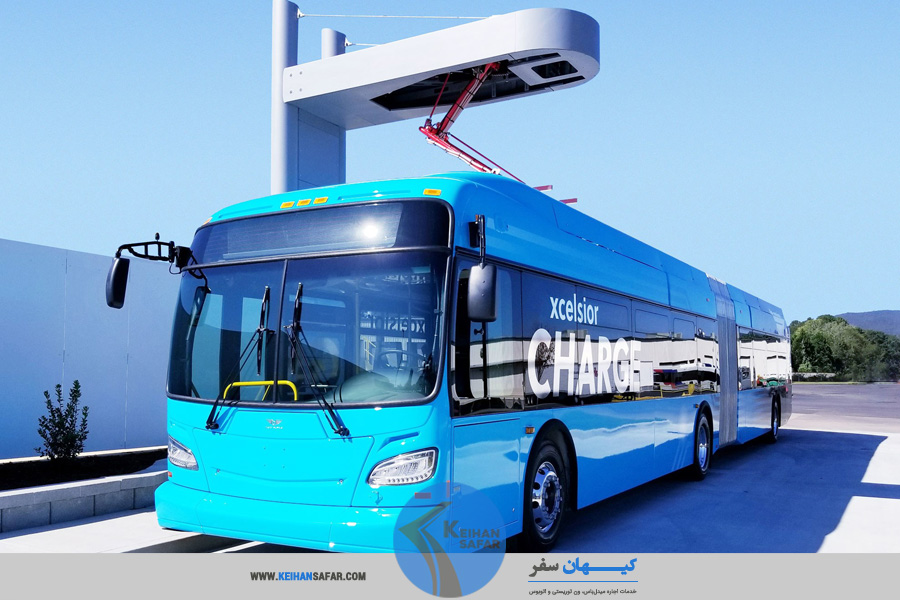 electric bus rental