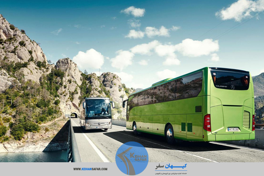rent cheap bus in tehran