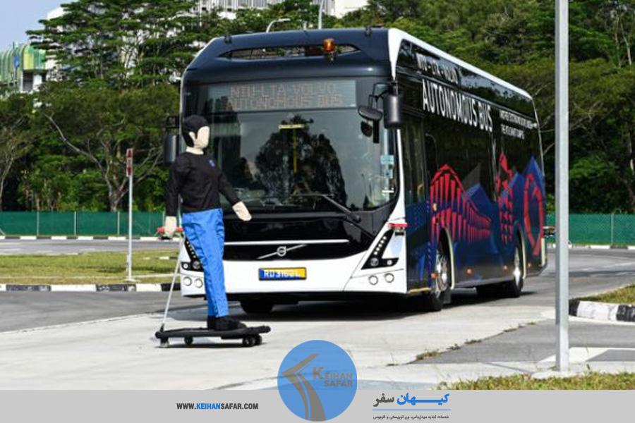 اتوبوس ولوو ایمن و مجهز