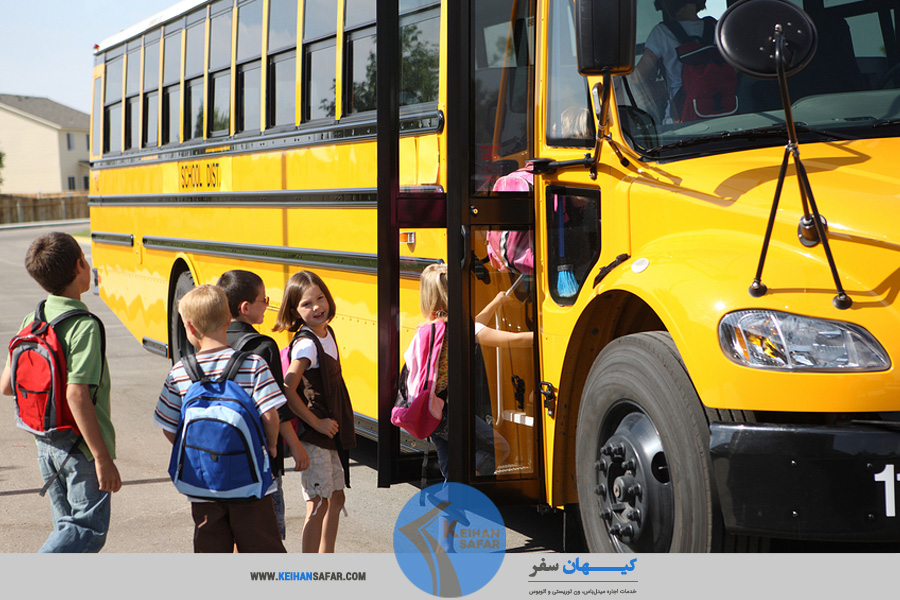 school trip bus rent