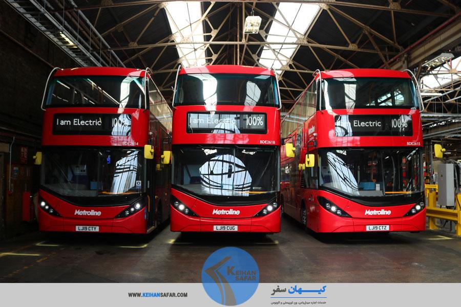 انواع اتوبوس دربستی خاص و تشریفاتی