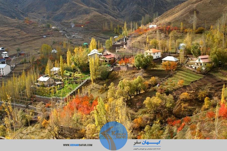 سفر با اتوبوس به اطراف تهران (روستای افجه)